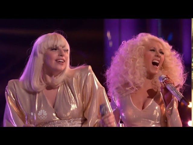 Lady Gaga - Do What U Want feat. Christina Aguilera Live at The Voice USA (December 17th 2013)