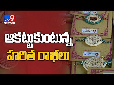 Coronavirus effect on Rakhi sales in Telugu States - TV9