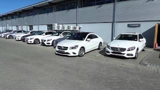 Active Park Assist on the Mercedes-Benz CLA
