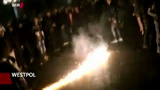 New footage of Cologne New Year migrant sex attacks, police struggling to contain the crowds