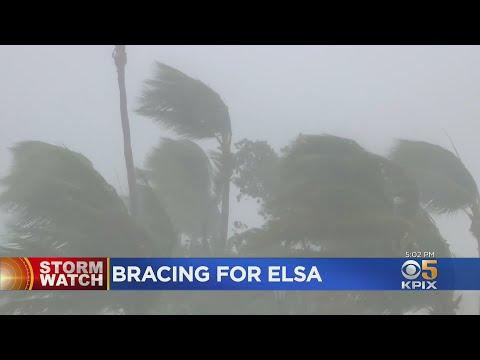 Forecasters Upgrade Tropical Storm Elsa to Hurricane Status