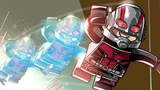 Ant-Man and the Wasp Level Pack DLC (All Minikits) - LEGO Marvel Super Heroes 2
