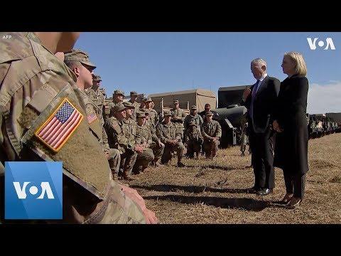 Mattis Visits US Southern Border