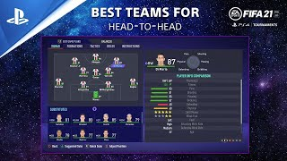 FIFA 21 Tips - Best Teams for Head-to-Head | PS Competition Center