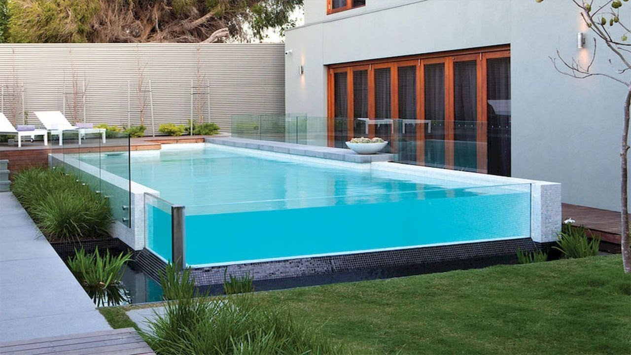 80+ Above Ground Pools Ideas | Swimming Pool Deck Designs - YouTube