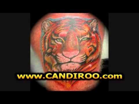 Tatuajes De Tigres De Bengala Youtube
