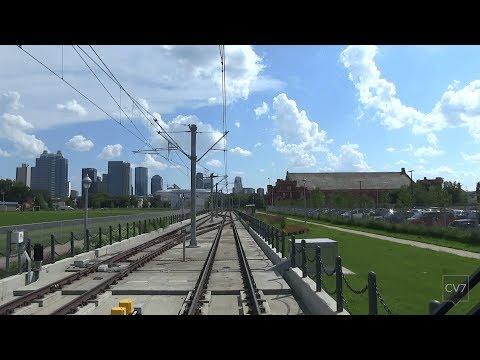 Edmonton LRT Metro Line in 4 Minutes (Time Lapse)
