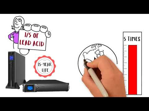 N1C N1 Critical Technologies - Lithium Ion Battery UPS Systems
