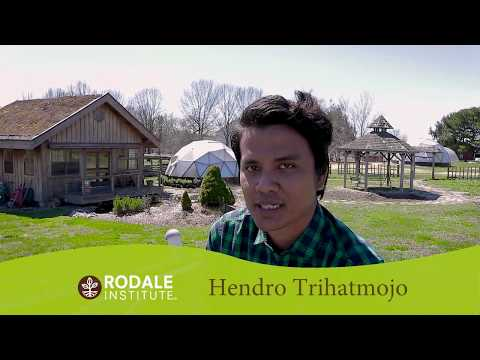 Meet a Future Organic Farmer: Hendro Trihatmojo, Indonesia