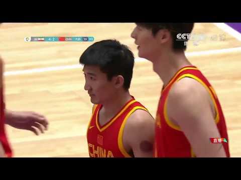 Iran Vs China 2018 Asian Games Basketball Final Game 2018亚运会男子篮球决赛  伊朗VS中国
