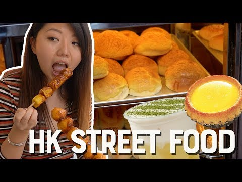 HONG KONG STREET FOOD TOUR: Mong Kok Foods to Try