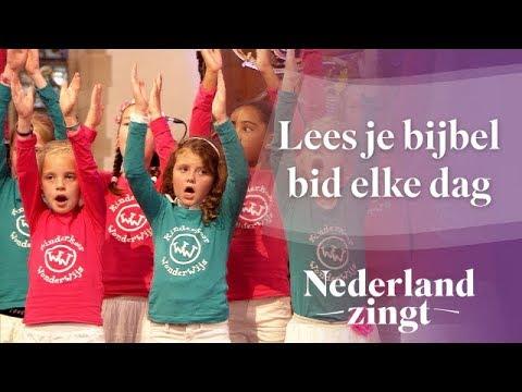 Nederland Zingt: Lees je bijbel bid elke dag