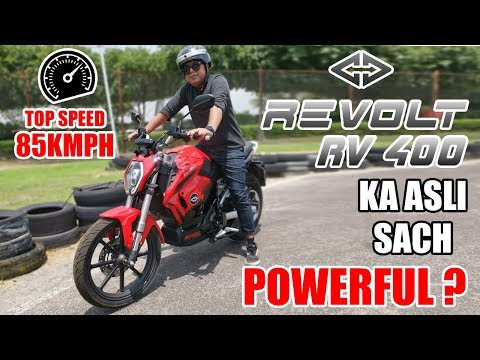 electric-bike-same-as-motor-bike-?-revolt-rv-400-ka-sach-|-first-drive-review