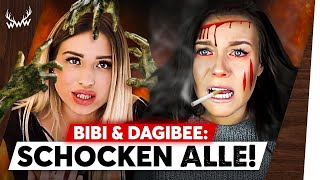 Dagi SCHOCKT mit HORROR-Outfit! • Bibi missbraucht ZOMBIE-FANS!   #HalloWWWeen