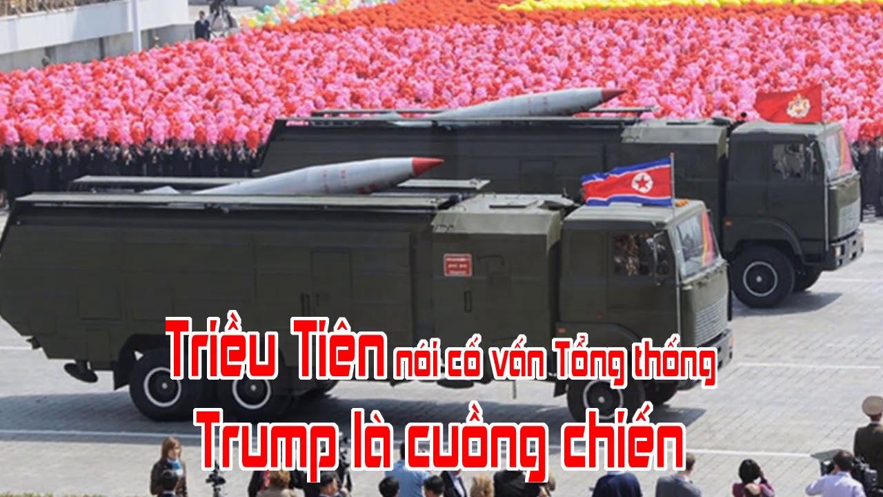 Triều Tiên nói cố vấn Tổng thống Trump là cuồng chiến