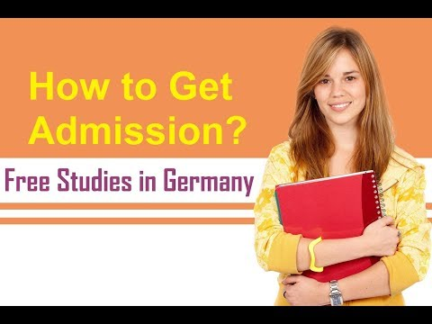 How to get Admission in German University