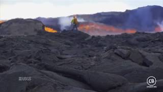 Fissure 8 And The Lava River Up Close June 29, 2018