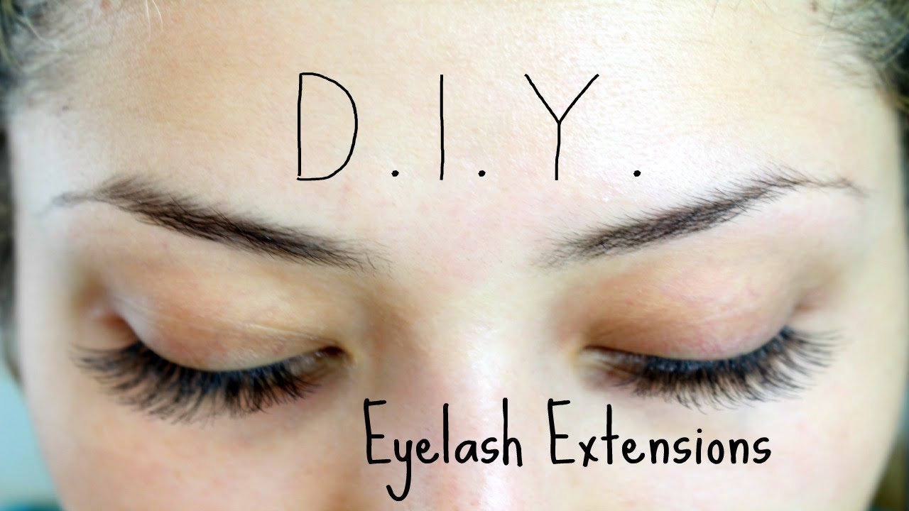 Diy eyelash extensions youtube diy eyelash extensions solutioingenieria Images