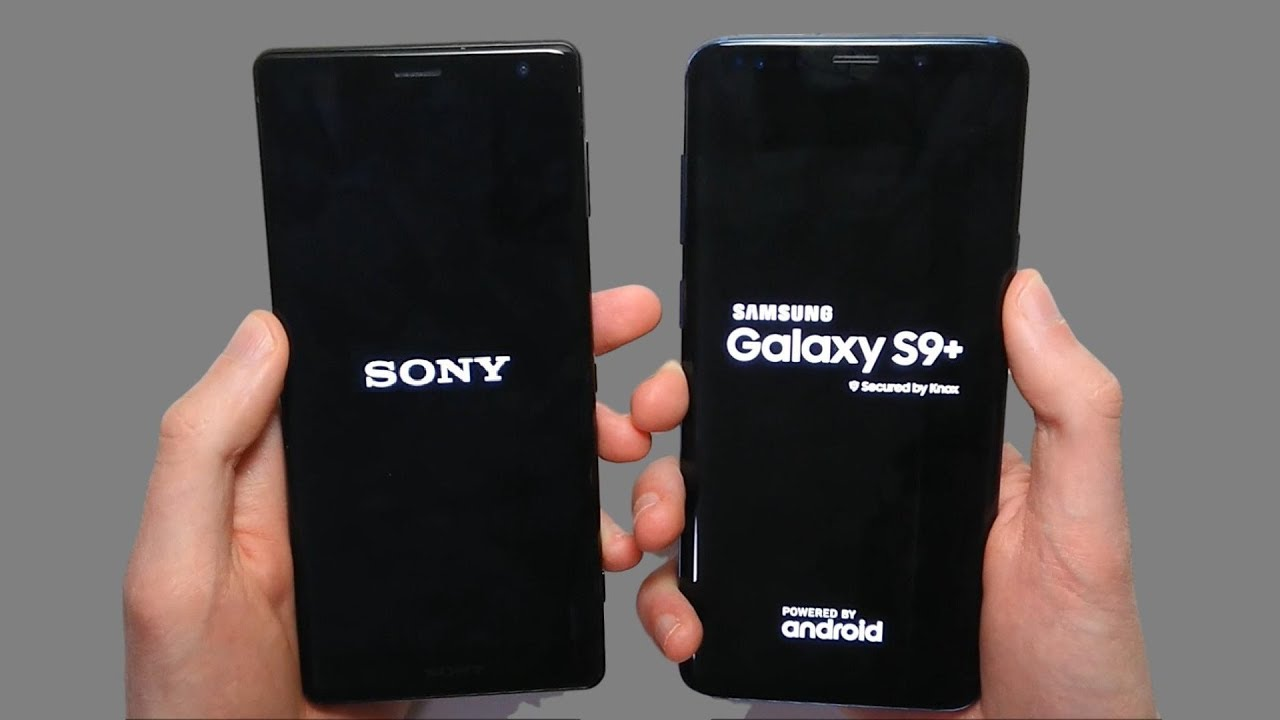 samsung s9 plus vs sony xperia xz2