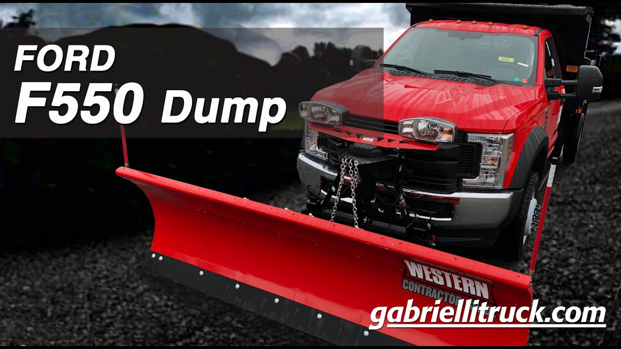 Gabrielli Truck Sales >> New Ford F550 Super Duty Dump Truck With Snow Plow For ...