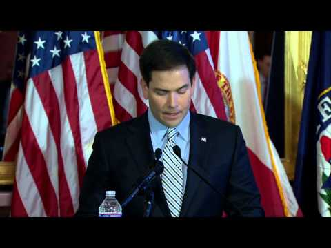 "Senator Rubio Delivers Address on 50th Anniversary of the ""War on Poverty"""