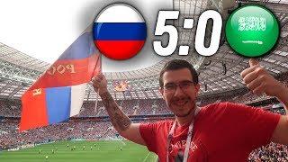 Россия - Саудовская Аравия 5:0 | Как это было | 14.06.2018