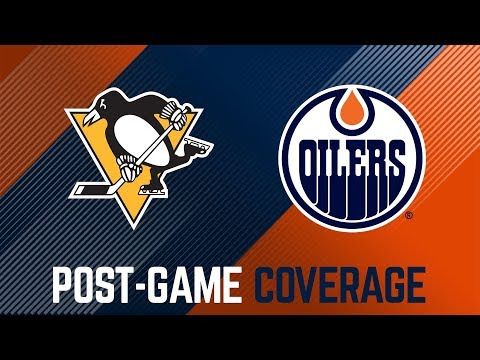 ARCHIVE | Oilers Post-Game Interviews at Penguins