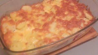Картошка с шпротами в духовке