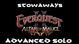 Everquest 2: Altar of Malice - Rum Cellar - F.S Distillery: Stowaways Advanced Solo