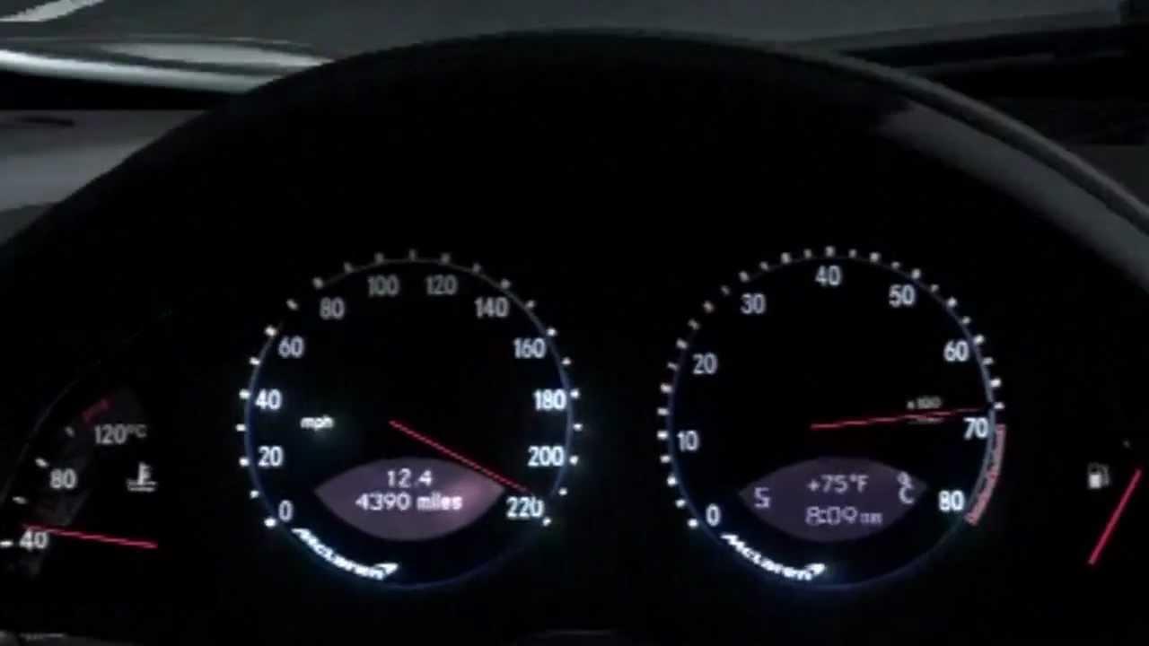 GT5 - Mercedes SLR Mclaren - Top Speed - YouTube