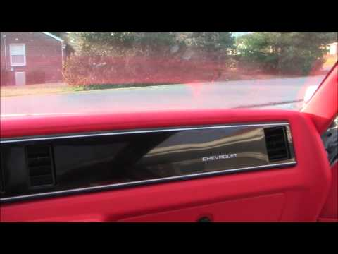 1987 Monte Carlo Ss Custom Interior 99 Finished Inside Youtube
