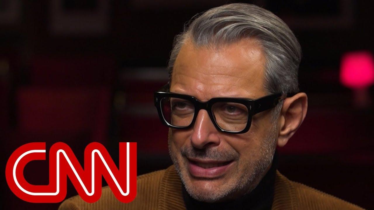 CNN's Christiane Amanpour sits with Jeff Goldblum
