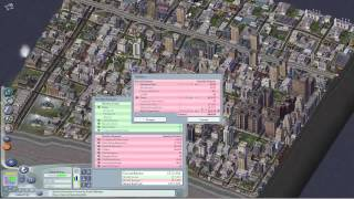 SimCity 4 Gameplay - Building an Instant City.