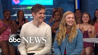 Bo Burnham and Elsie Fisher say you should sit far away from your parents during 'Eighth Grade'