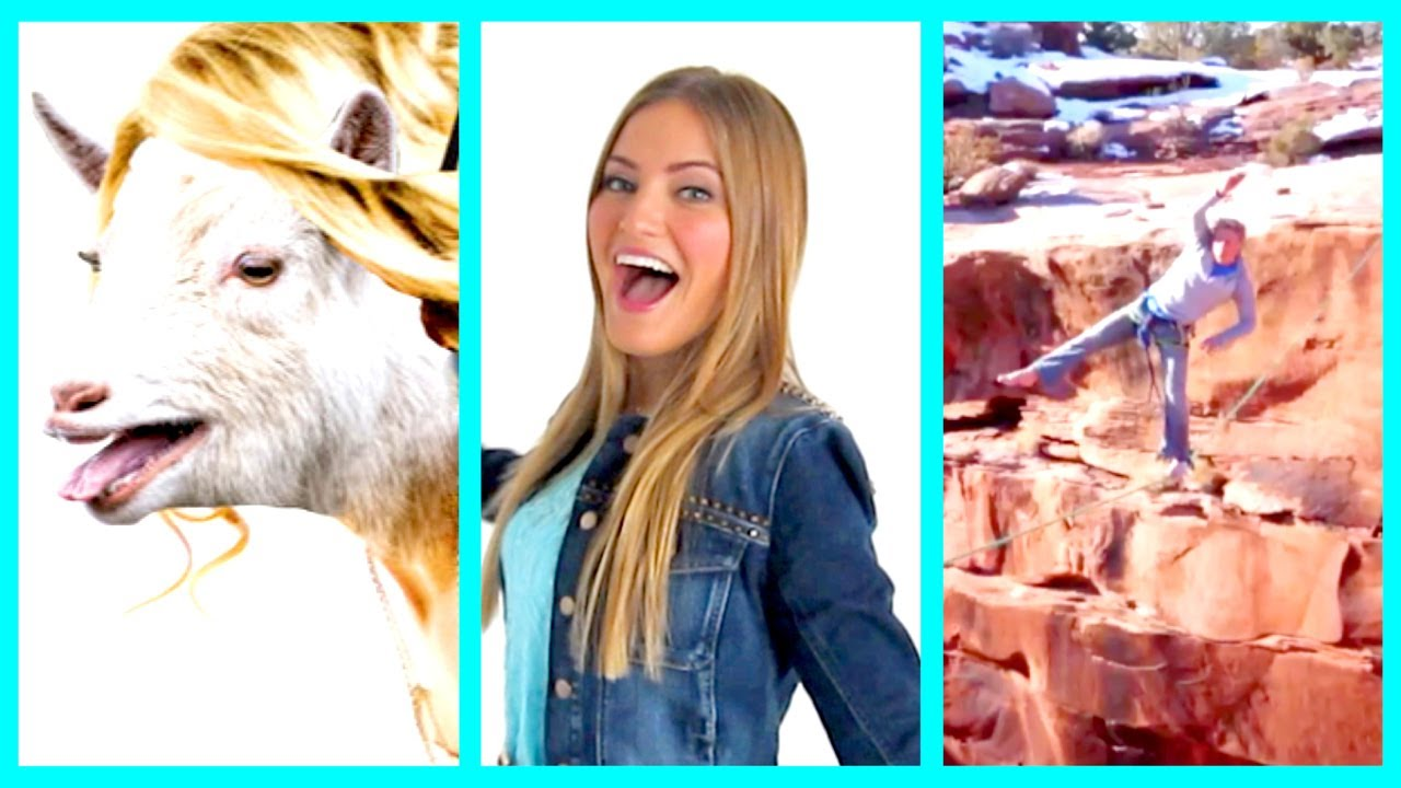 Taylor Swift Goat Insane Rope Swing And Vine App Oh My Ijlikes Ijustine Youtube