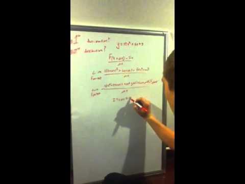 Mason teaches the world derivatives