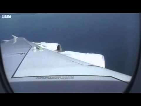 Qantas A380 Engine Failure Footage from the passenger view (4 nov 2010)