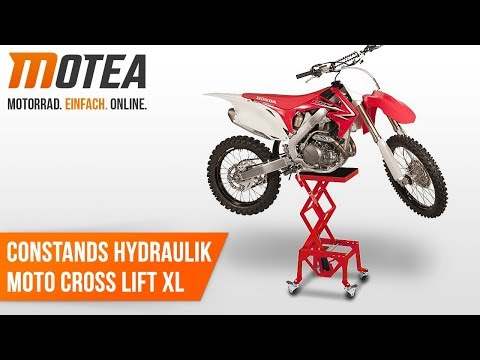 ConStands Moto Cross Heber Motocross//Supermoto//Enduro//Trial Montageständer rot