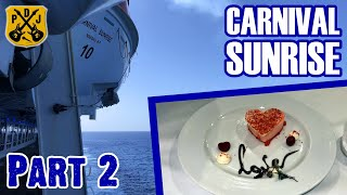 Carnival Sunrise Cruise Vlog 2020 - Part 2: Sea Day, Valentine Duck Hunt, Vow Renewal - ParoDeeJay