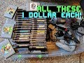 My best Garage Sale Day of 2018! 40 1 dollar NES Games + SO MUCH MORE! S2E4 Part 1