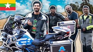 WE MET INDIAN BIKERS IN MYANMAR 🇲🇲 (Superbike Riders)