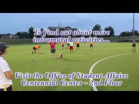 Intramural Football at Rogers State University