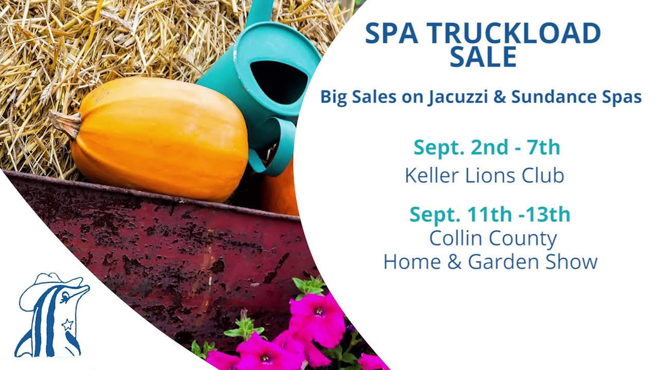 Swimming Pool Supply Store Dallas | September Spa Truckload Sale ...