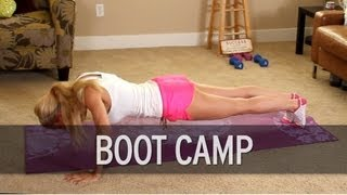 Boot Camp Workout: How to Get Fit