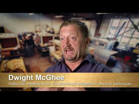 Clover Park Technical College HVAC Service Technician Program Promotional Video - 2017
