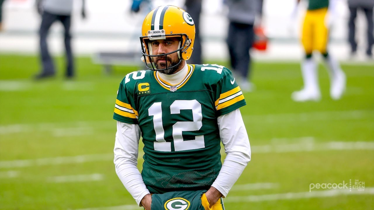 Rich Eisen on Where Aaron Rodgers Will Be Playing Next Season | The Rich Eisen Show | 1/25/21