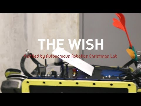 The Wish - Autonomous Robotics Christmas Lab 2017