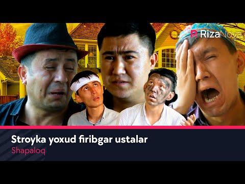 Shapaloq - Stroyka yoxud firibgar ustalar (hajviy ko'rsatuv)