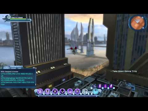 DCUO Villains Central City Bounties locations in CC & Metro prt1