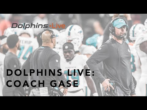 Coach Gase knows the work that needs to be done | Miami Dolphins